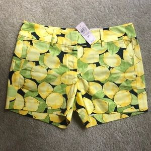 NWT Ann Taylor Petite Lemon Shorts in size 0